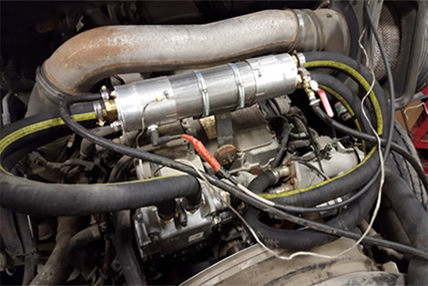 Paradigm Plasma System installed on Engine.